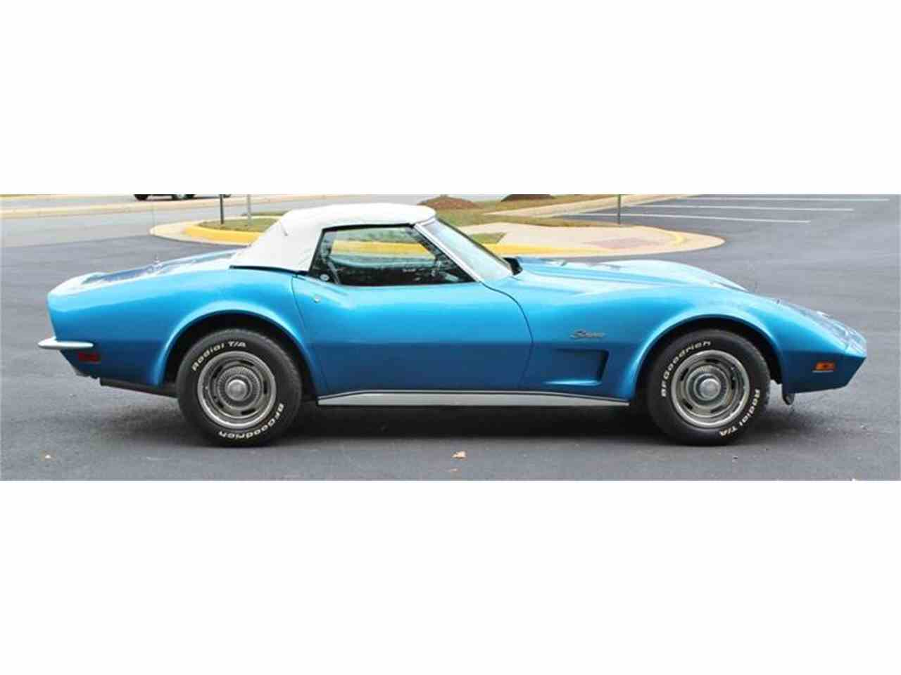Large Picture of 1973 Corvette located in Triangle Virginia Offered by Cooper Corvettes - JSVR