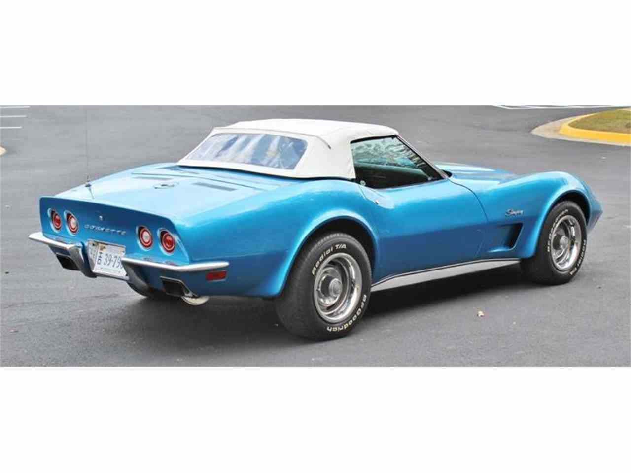 Large Picture of Classic '73 Chevrolet Corvette located in Triangle Virginia Offered by Cooper Corvettes - JSVR