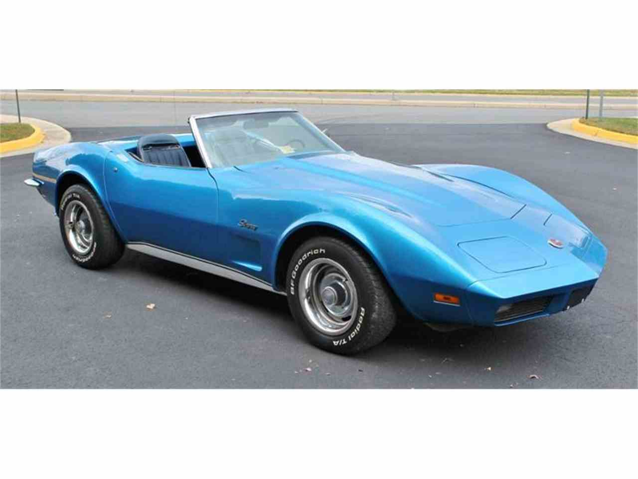 Large Picture of '73 Chevrolet Corvette located in Triangle Virginia - JSVR