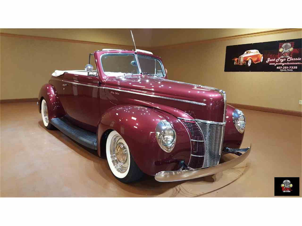 Large Picture of 1940 Ford Deluxe Offered by Just Toys Classic Cars - JSW5