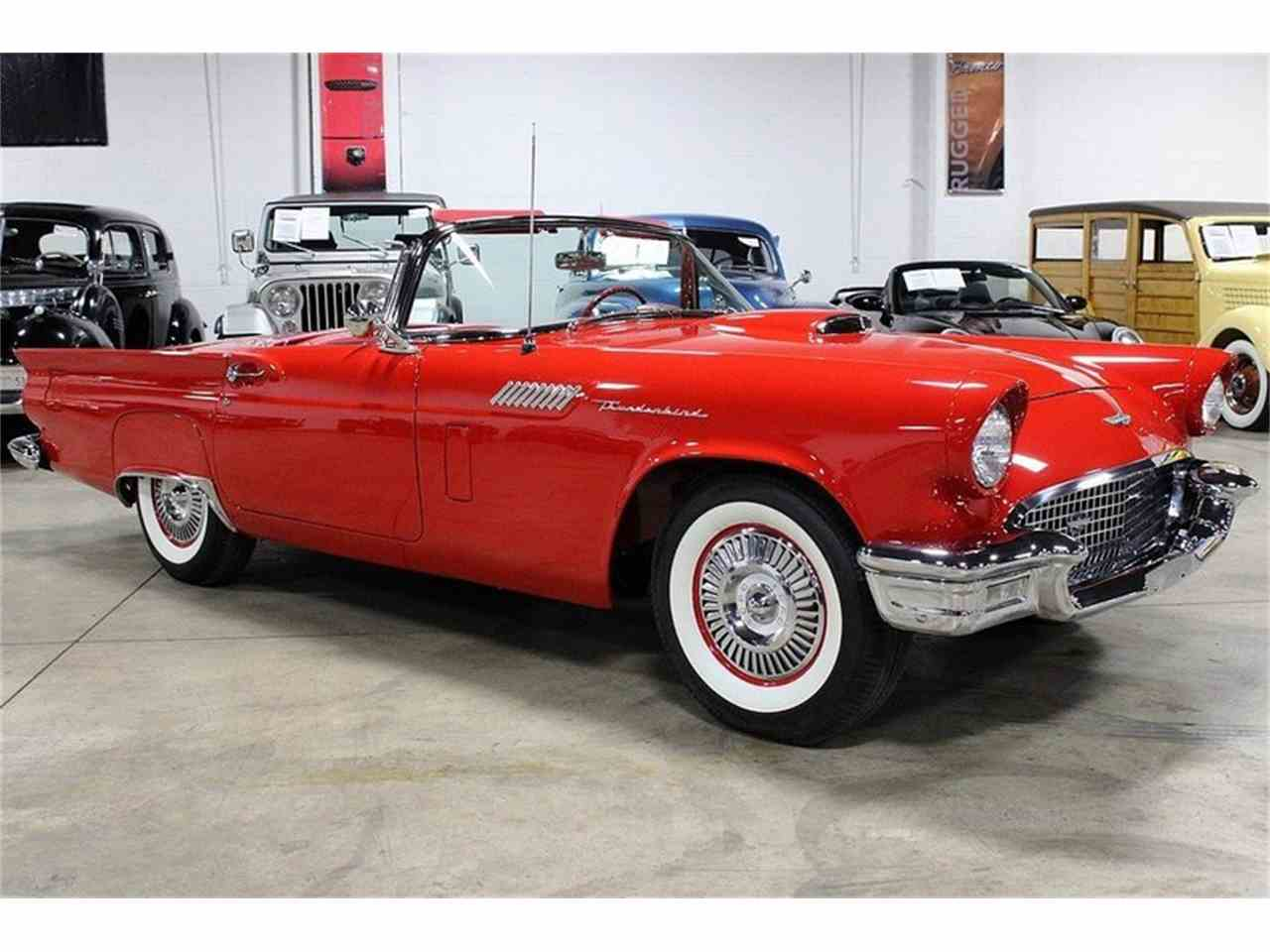 Large Picture of Classic 1957 Ford Thunderbird located in Kentwood Michigan Offered by GR Auto Gallery - JSW7