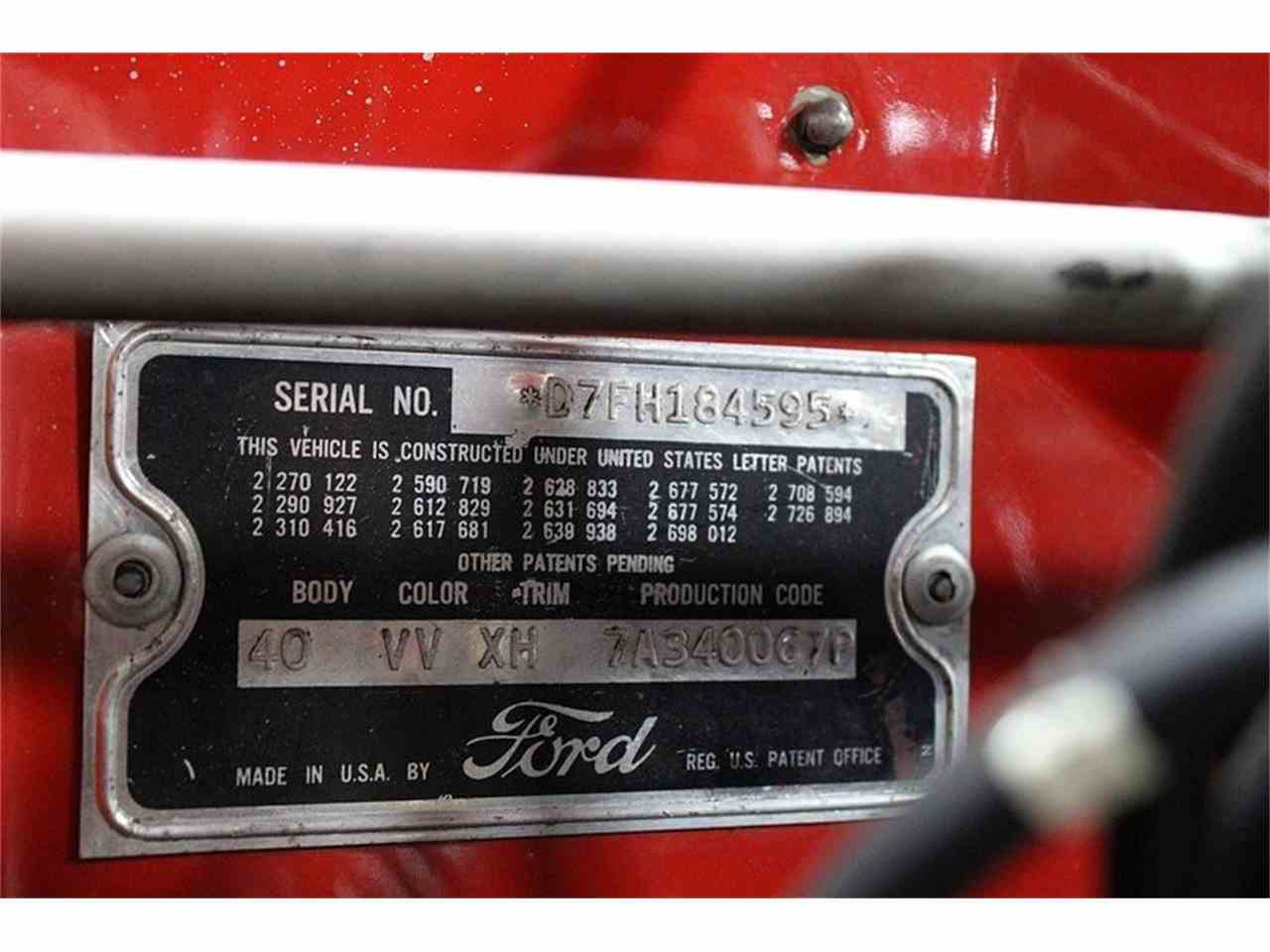 Large Picture of Classic 1957 Thunderbird located in Michigan - $51,900.00 Offered by GR Auto Gallery - JSW7