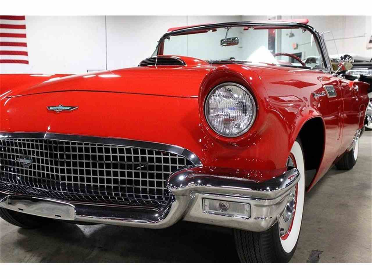 Large Picture of Classic '57 Ford Thunderbird located in Kentwood Michigan Offered by GR Auto Gallery - JSW7