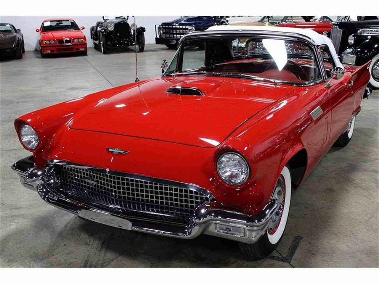 Large Picture of 1957 Thunderbird located in Michigan - $51,900.00 Offered by GR Auto Gallery - JSW7
