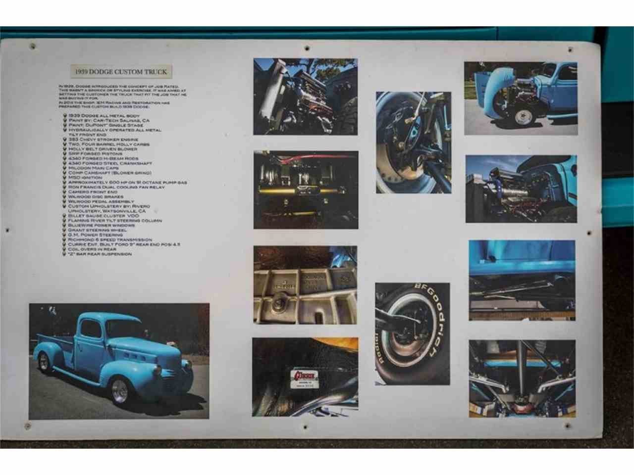 Large Picture of Classic '39 Dodge Pickup located in California Offered by California Supersport Auto - JQ73