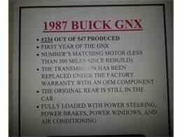 Picture of '87 GNX - JTAQ