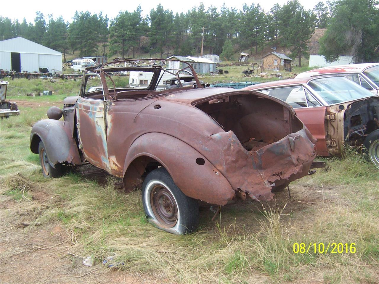 Large Picture of '38 Convertible - JTDX