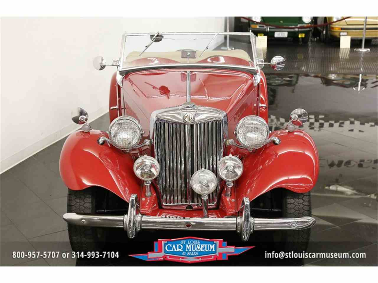 Large Picture of Classic 1951 MG TD Offered by St. Louis Car Museum - JTH6