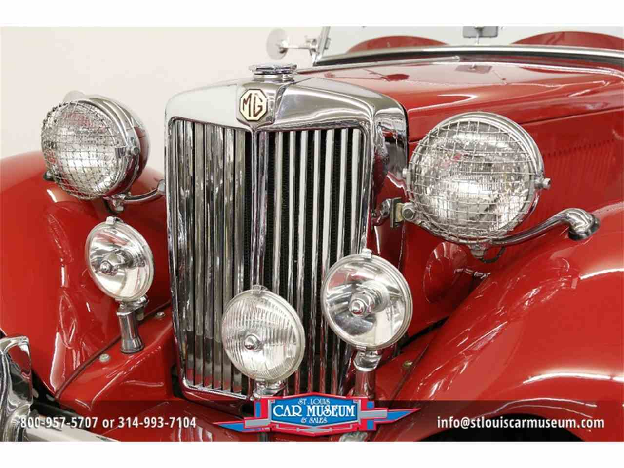 Large Picture of 1951 MG TD located in St. Louis Missouri Offered by St. Louis Car Museum - JTH6