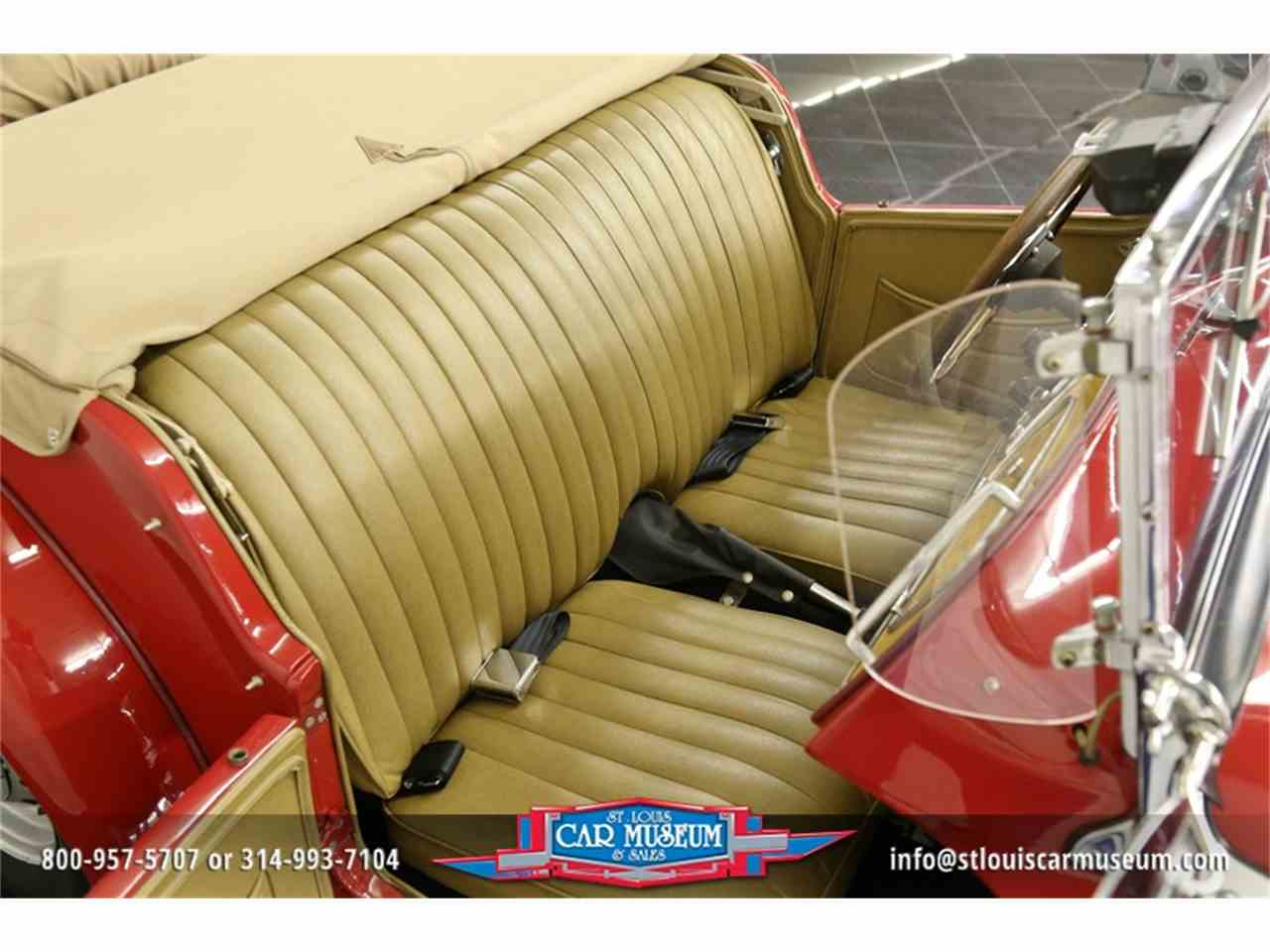 Large Picture of '51 MG TD located in St. Louis Missouri - $28,900.00 Offered by St. Louis Car Museum - JTH6