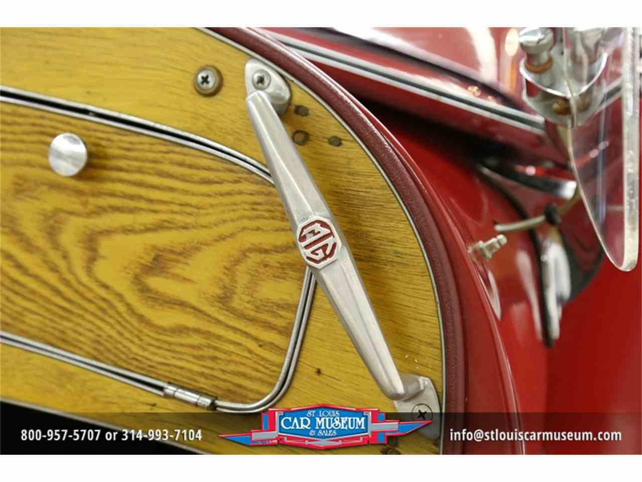 Large Picture of Classic '51 MG TD Offered by St. Louis Car Museum - JTH6