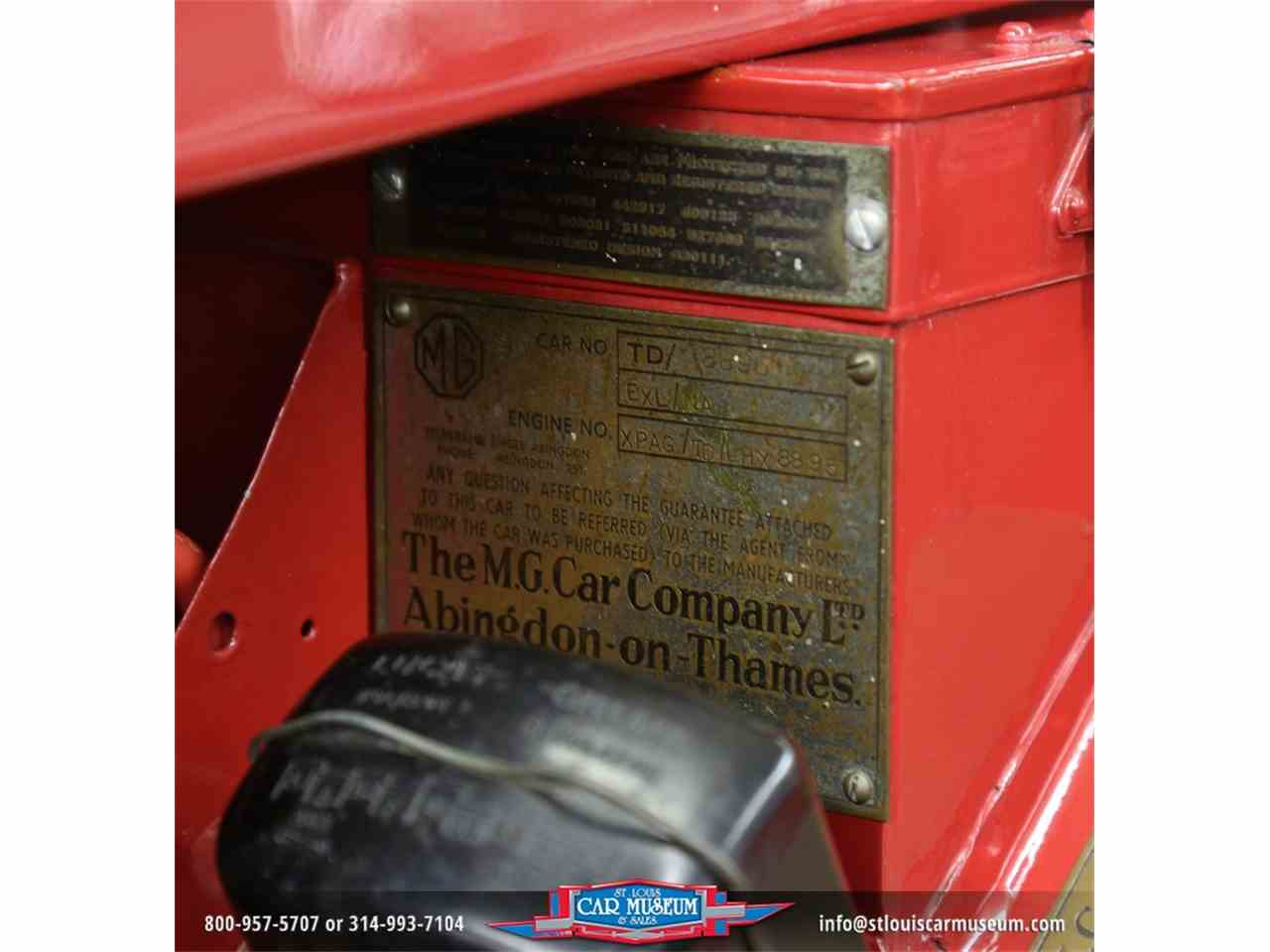Large Picture of '51 MG TD located in St. Louis Missouri - $28,900.00 - JTH6