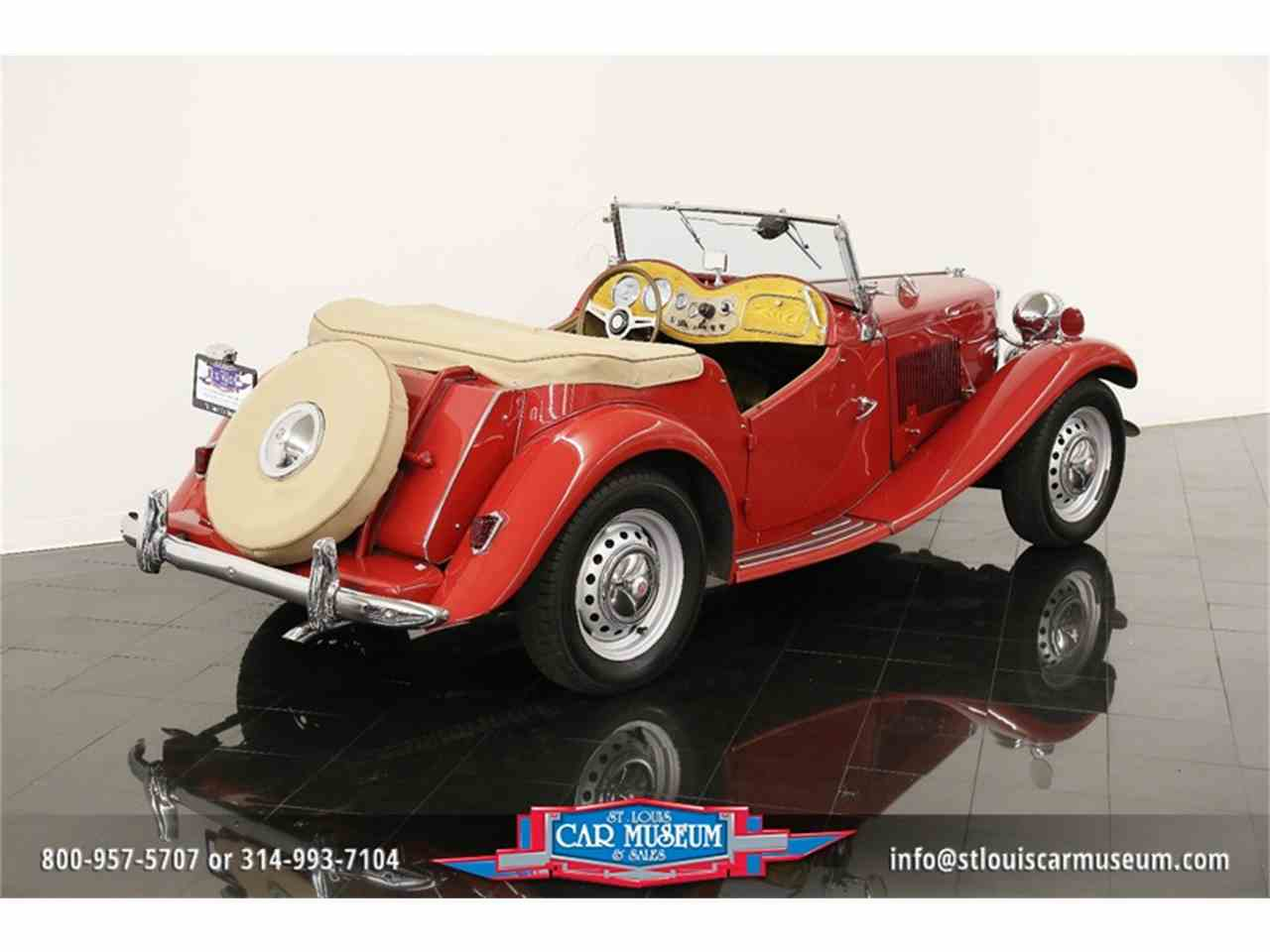 Large Picture of Classic '51 MG TD - $28,900.00 Offered by St. Louis Car Museum - JTH6