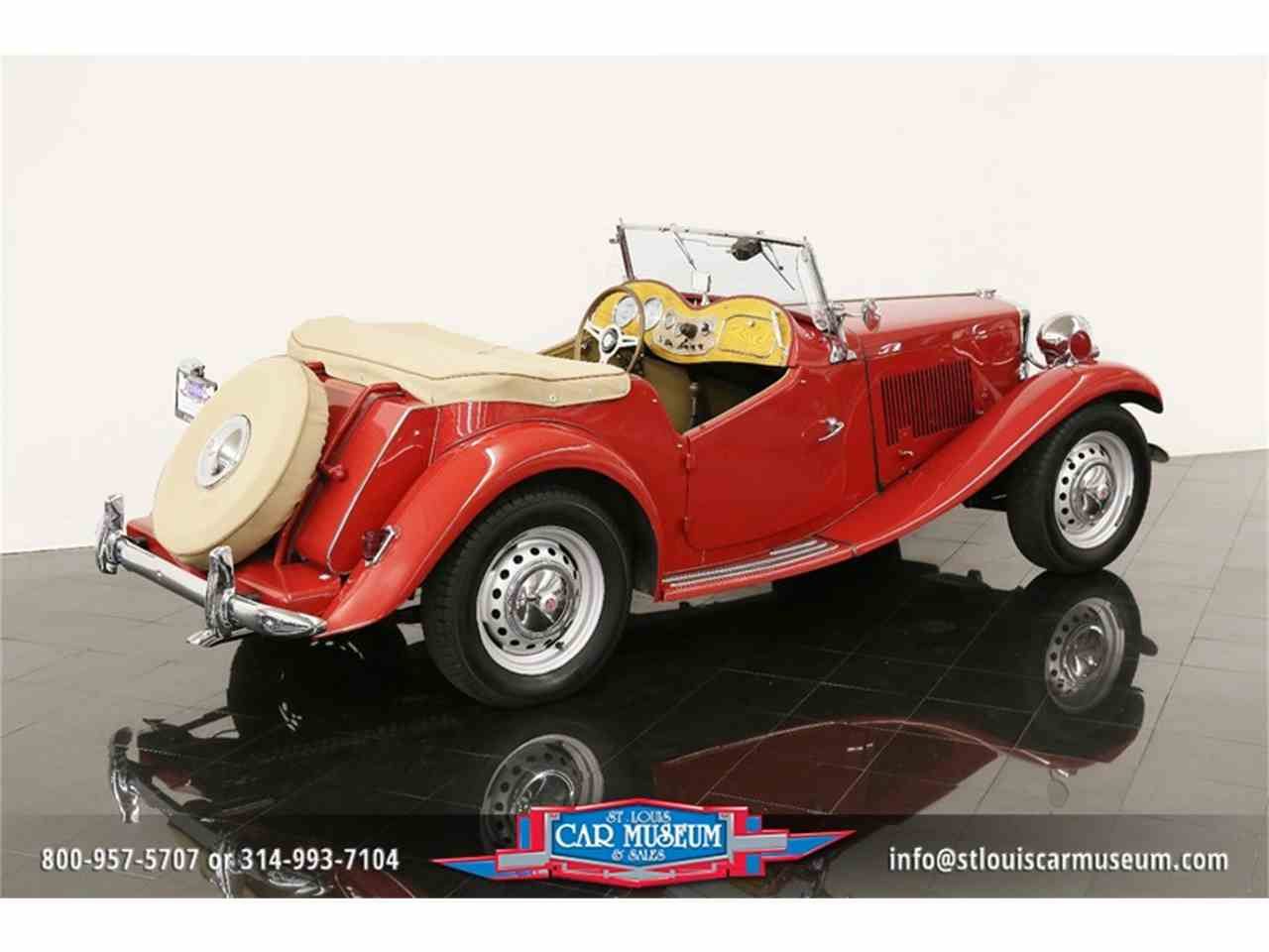 Large Picture of 1951 MG TD Offered by St. Louis Car Museum - JTH6