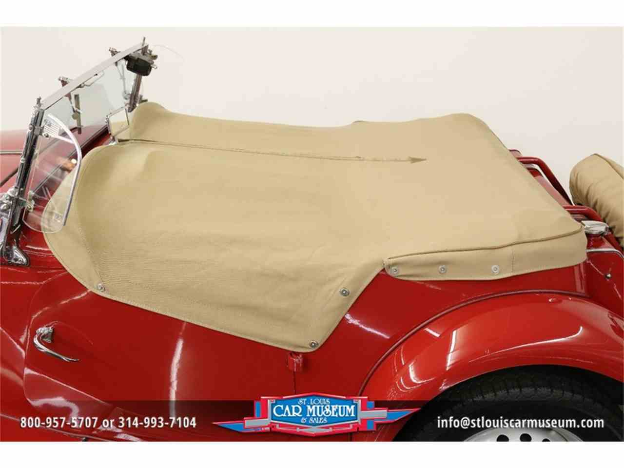 Large Picture of Classic 1951 MG TD located in Missouri Offered by St. Louis Car Museum - JTH6