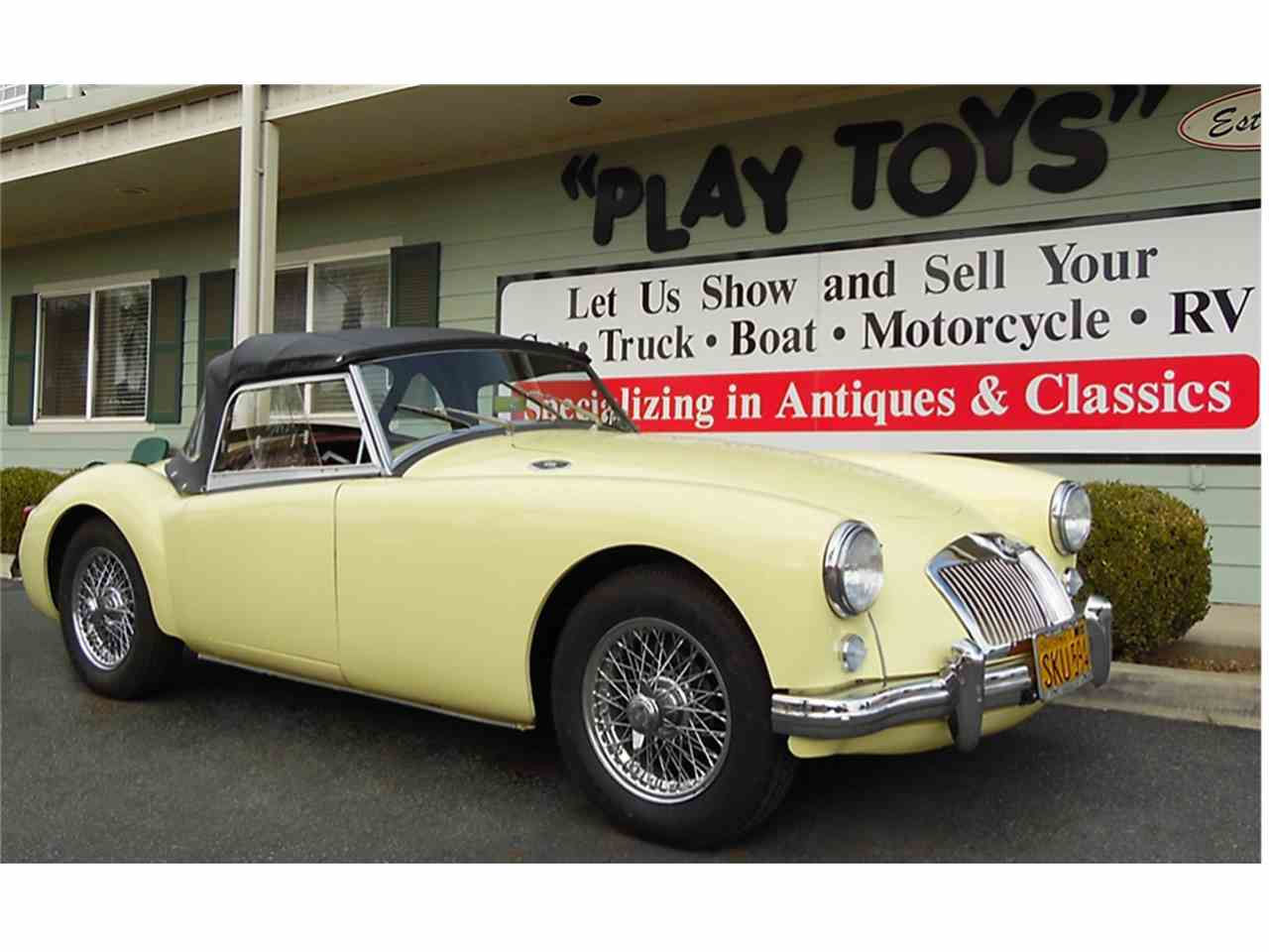 Large Picture of Classic 1956 MG MGA located in Redlands California - $19,995.00 Offered by Play Toys Classic Cars - JTIG