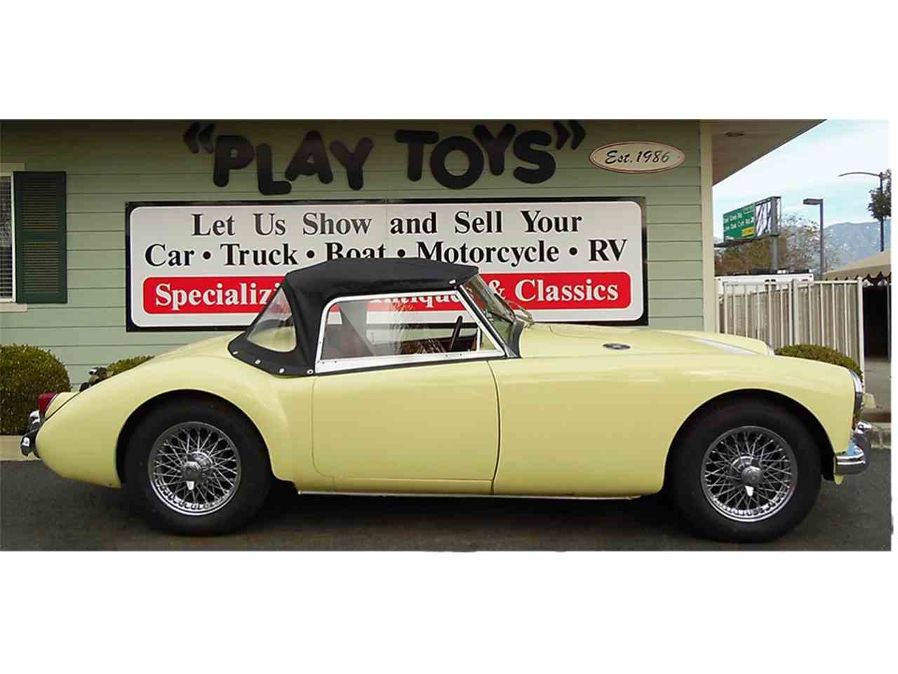 Large Picture of 1956 MG MGA located in Redlands California Offered by Play Toys Classic Cars - JTIG