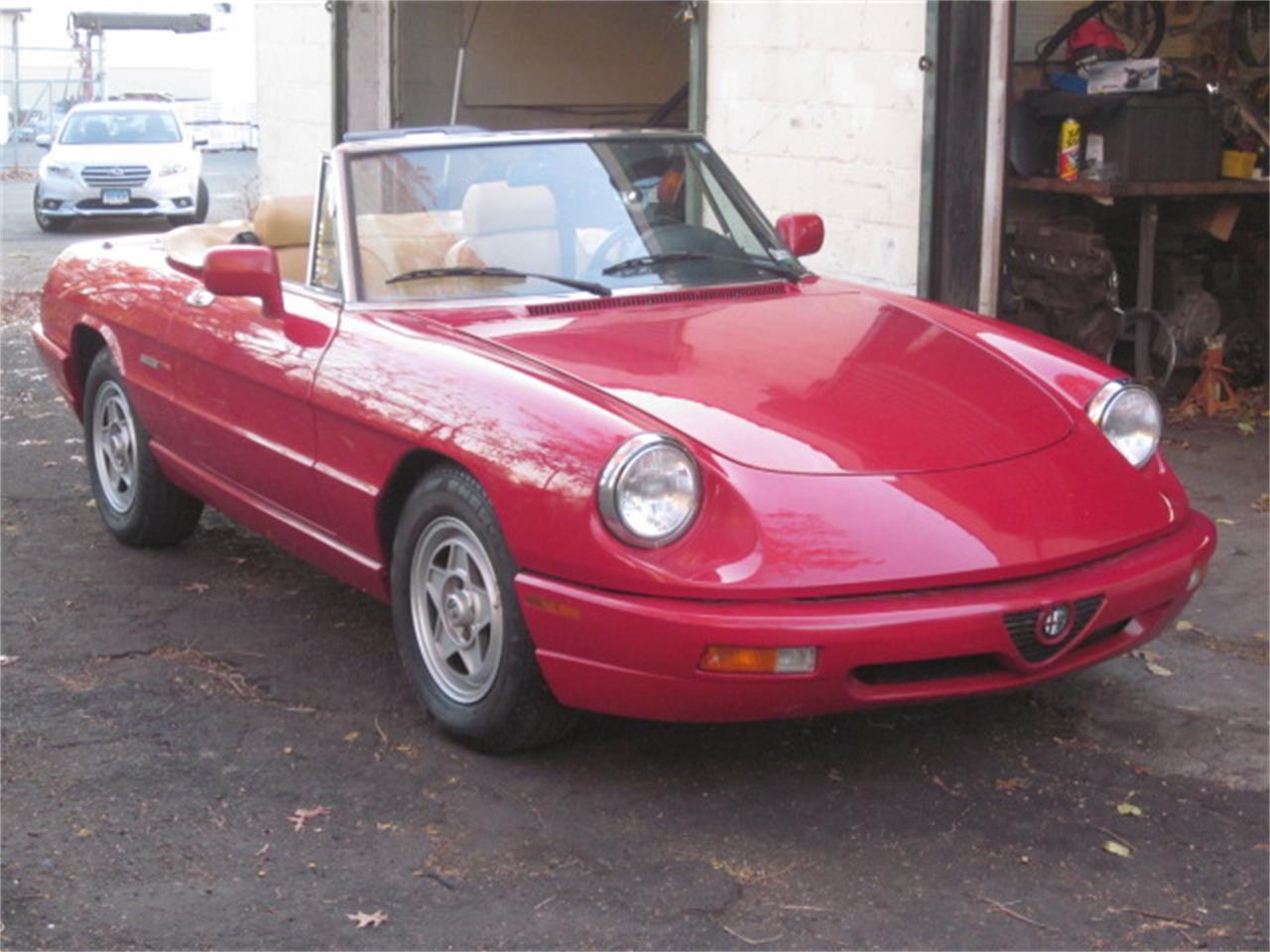 Alfa Romeo Spider For Sale ClassicCarscom CC - 1991 alfa romeo spider for sale
