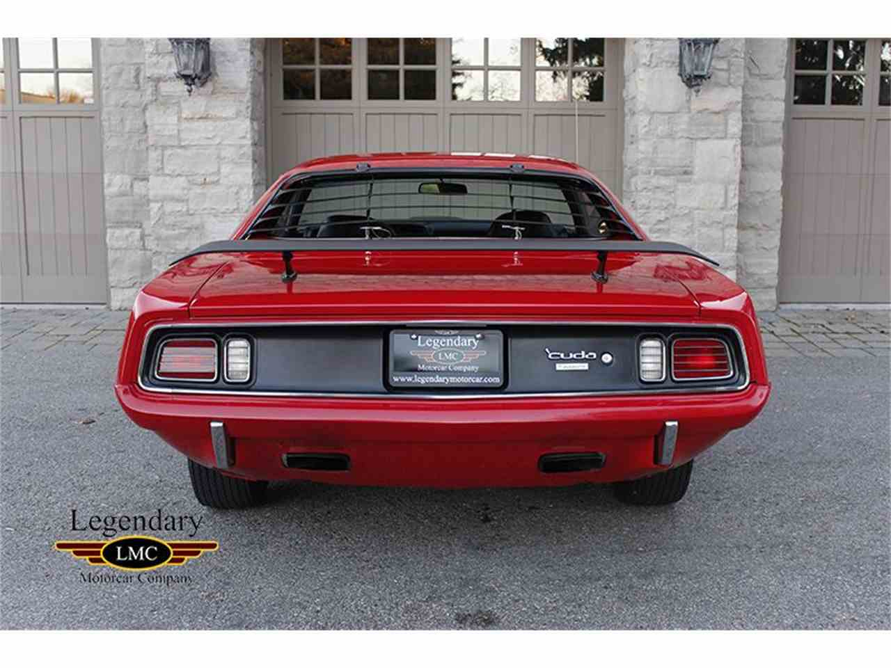Large Picture of Classic 1971 Cuda 440/6Pack located in Halton Hills Ontario - $119,900.00 Offered by Legendary Motorcar Company - JTNT