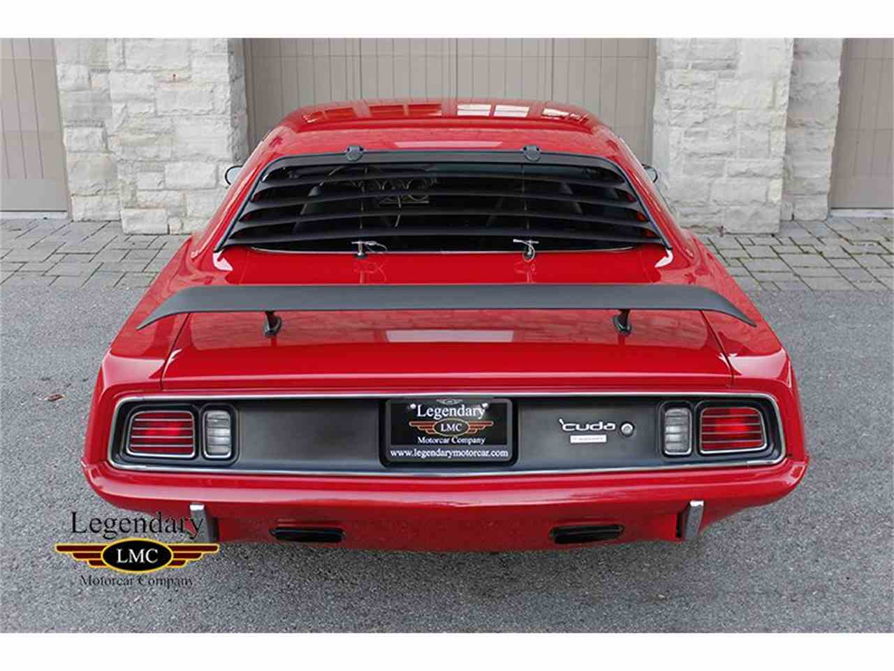 Large Picture of Classic 1971 Plymouth Cuda 440/6Pack located in Halton Hills Ontario - JTNT