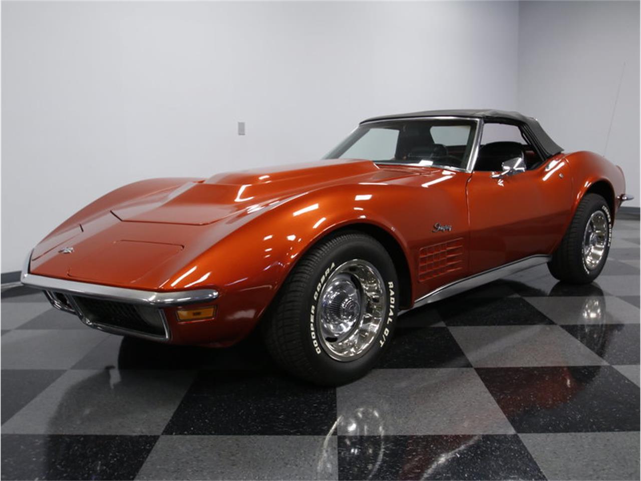Large Picture of Classic '70 Chevrolet Corvette located in Concord North Carolina Offered by Streetside Classics - Charlotte - JTQZ