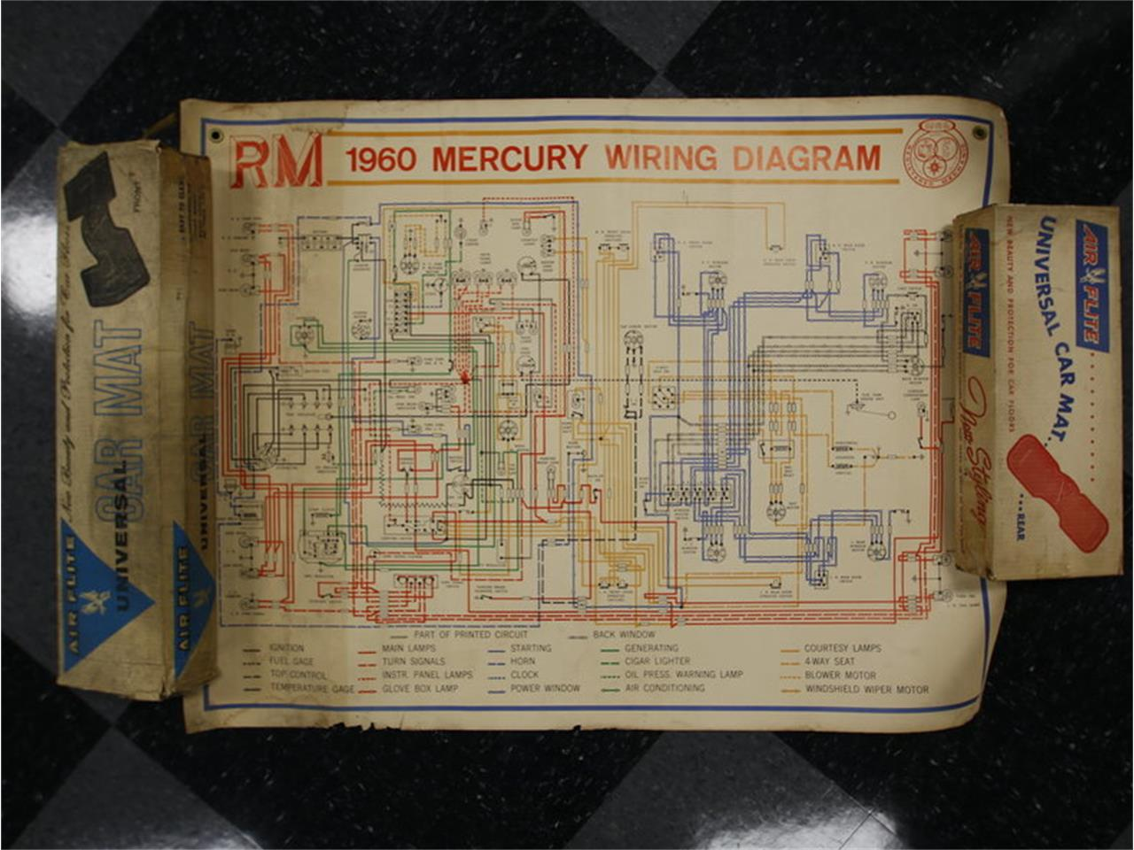 1960 Mercury Monterey For Sale Cc 925031 Power Seat Wiring Diagram Of 1957 Ford Lincoln 4 Way Large Picture Located In North Carolina Jtrb