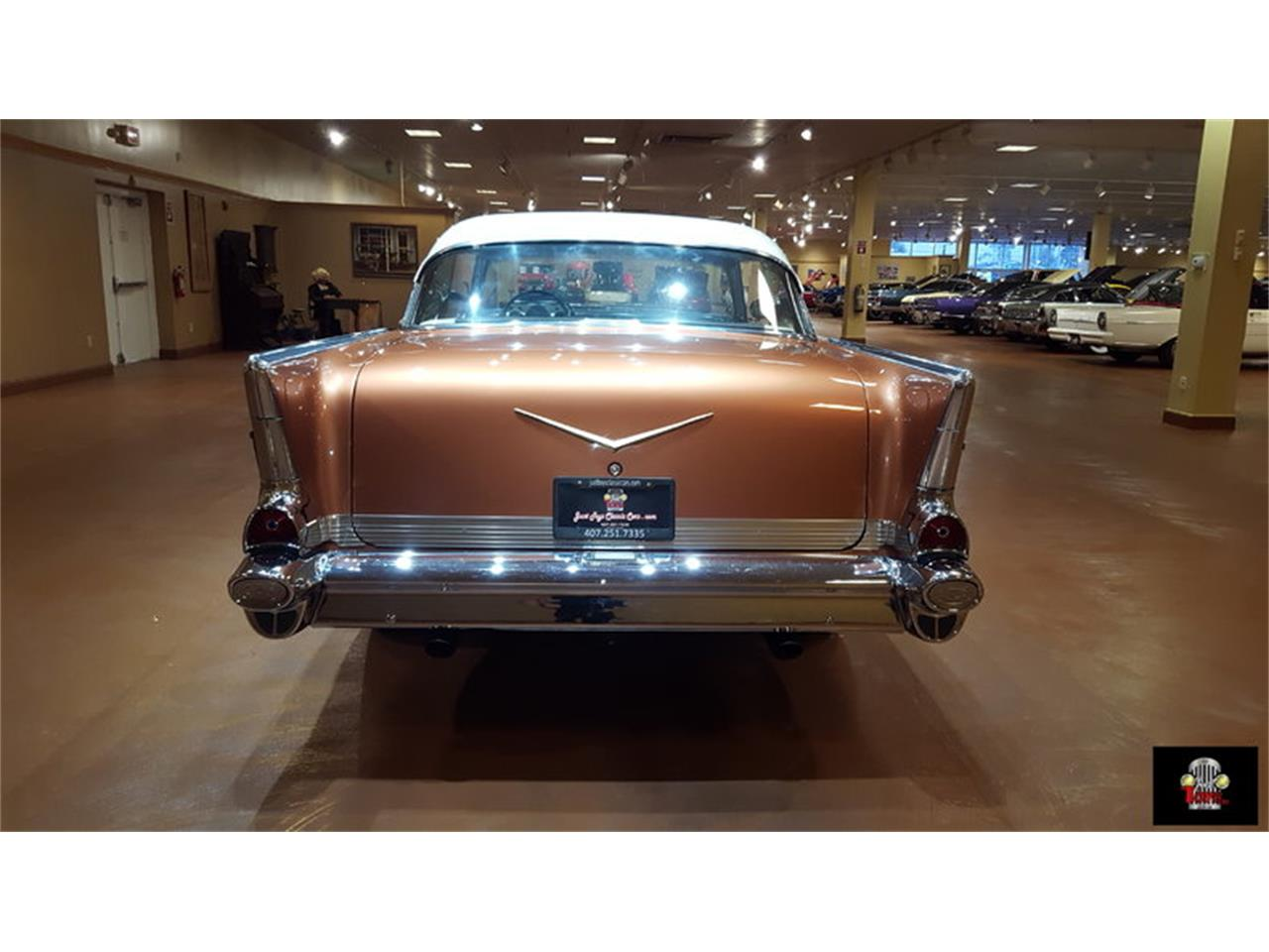 Large Picture of Classic '57 Chevrolet Bel Air - JTYR