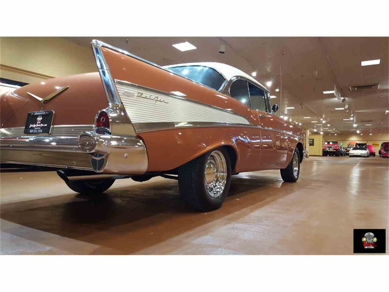 Large Picture of 1957 Chevrolet Bel Air located in Florida Offered by Just Toys Classic Cars - JTYR