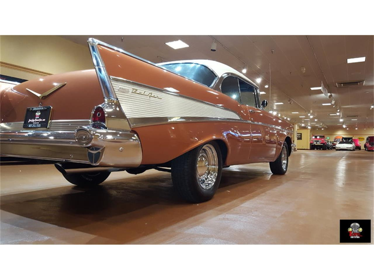Large Picture of '57 Chevrolet Bel Air Offered by Just Toys Classic Cars - JTYR