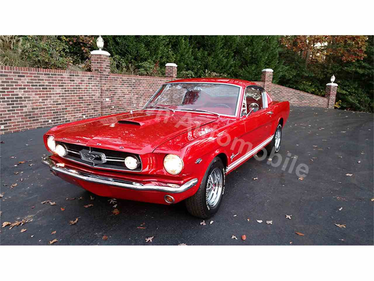 Large Picture of '65 Mustang - JU41