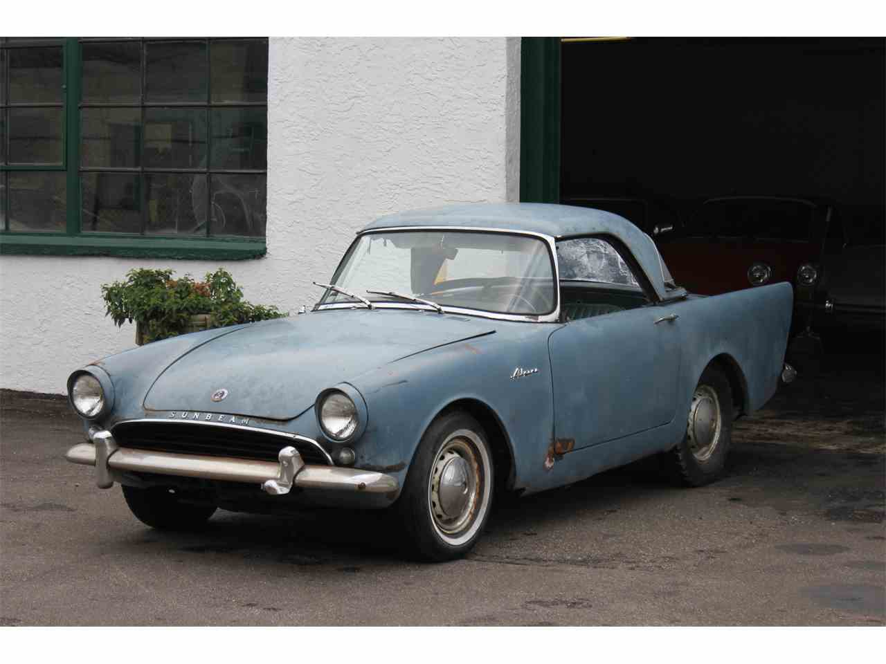 Large Picture of 1962 Alpine - JQB8