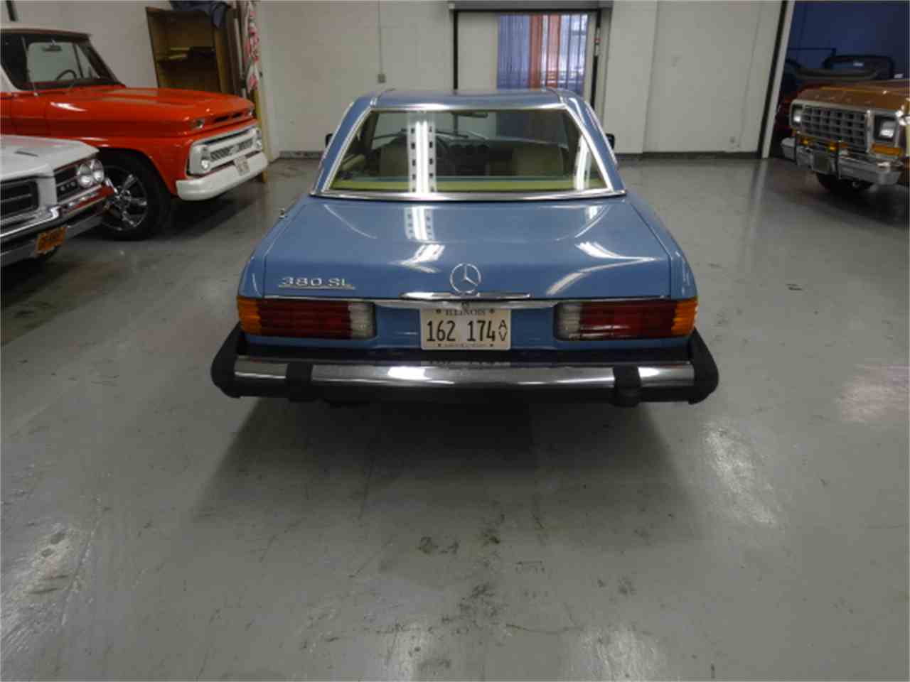 Large Picture of 1981 Mercedes-Benz 380SL located in Lake Zurich Illinois Offered by Midwest Muscle Cars - JQBB