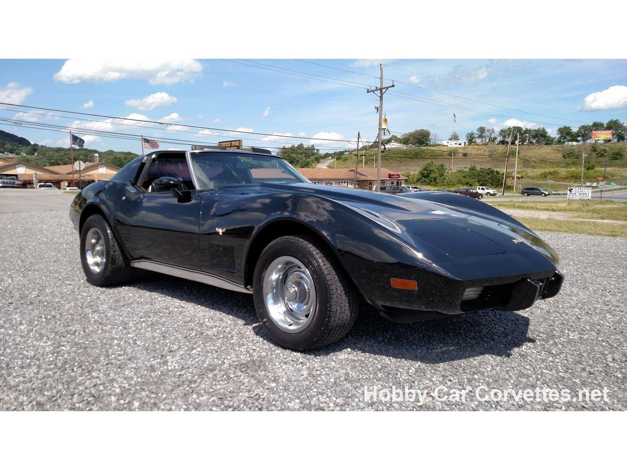 Large Picture of '77 Corvette - JUCN