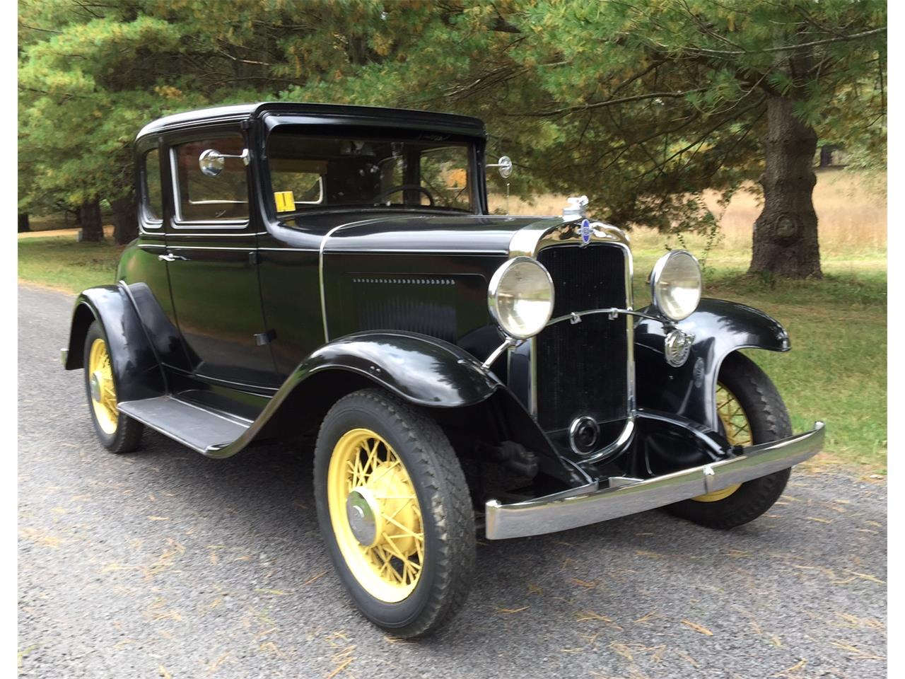 Large Picture of '31 5-Window Coupe - JUCV