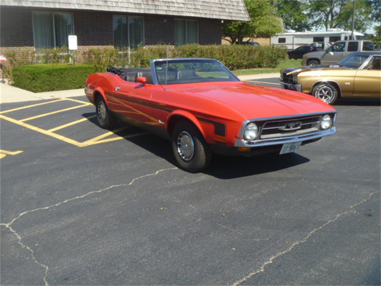 Large Picture of '71 Mustang located in Illinois Offered by Midwest Muscle Cars - JQBS