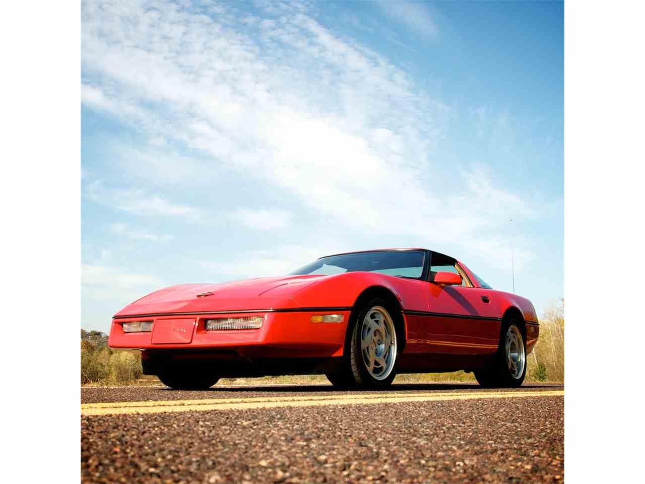Large Picture of '90 Chevrolet Corvette ZR1 located in Missouri Auction Vehicle Offered by MotoeXotica Classic Cars - JUGV