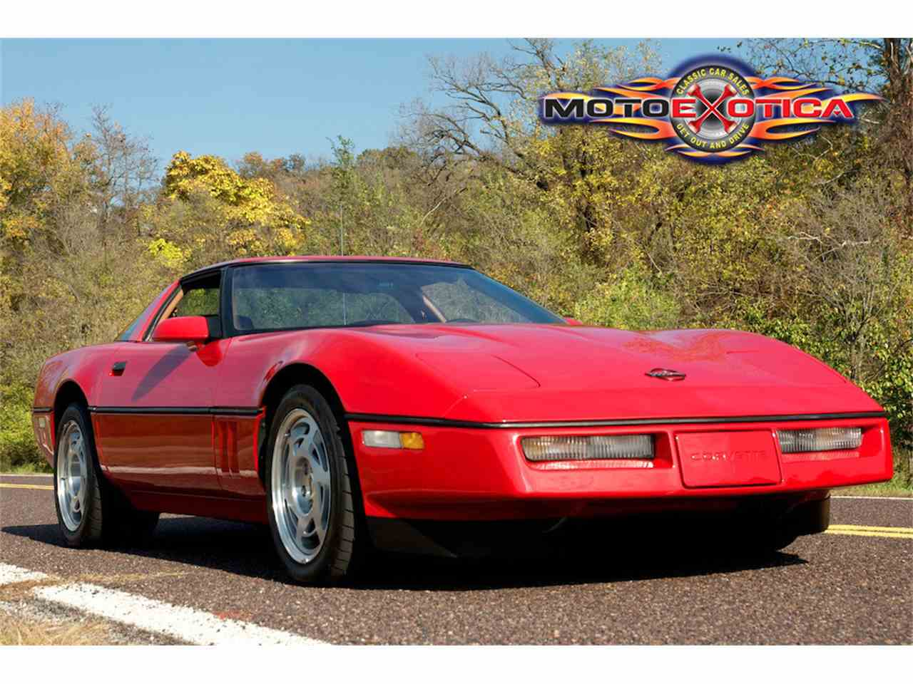 Large Picture of 1990 Corvette ZR1 Auction Vehicle - JUGV