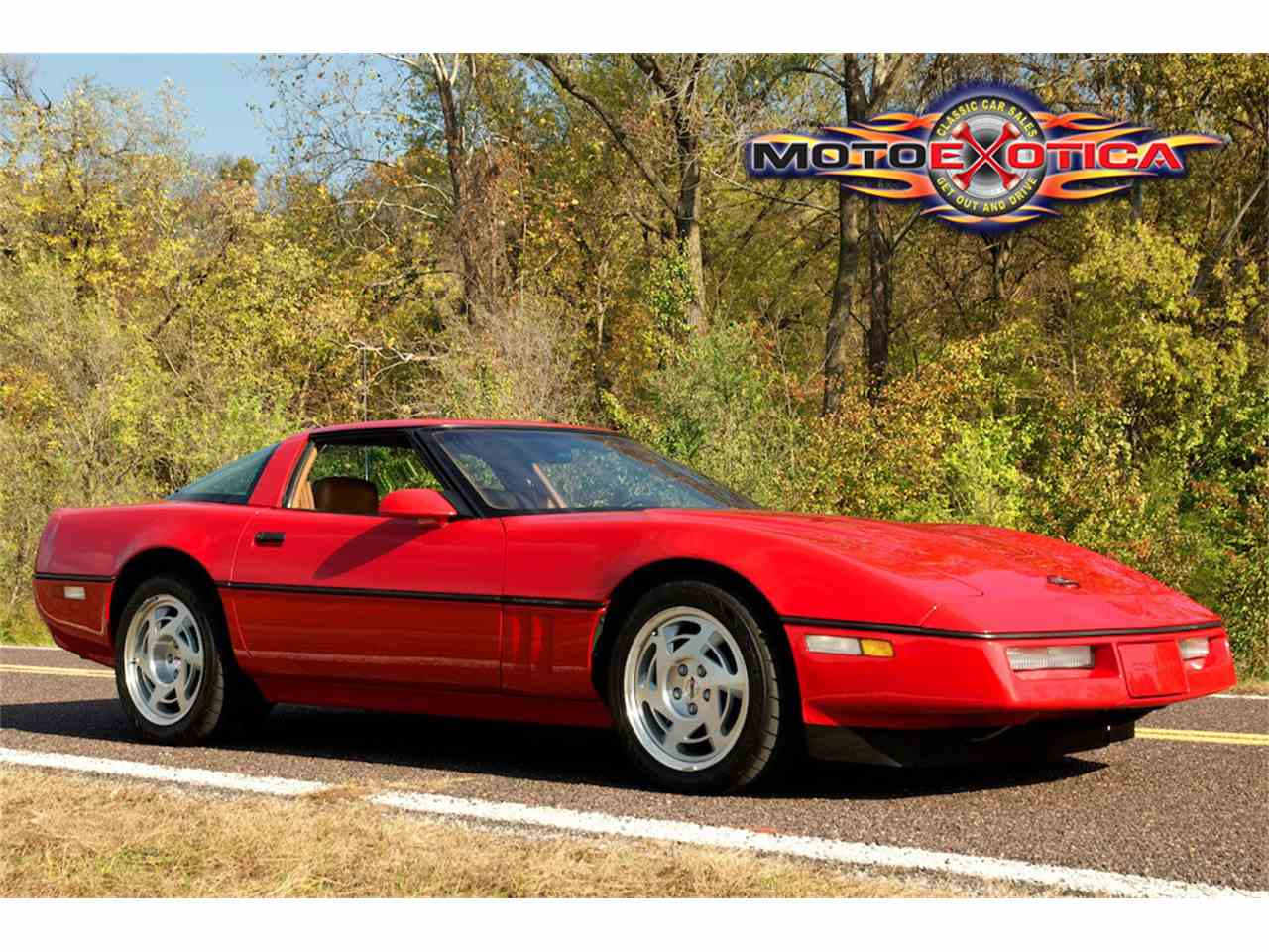 Large Picture of '90 Chevrolet Corvette ZR1 Auction Vehicle Offered by MotoeXotica Classic Cars - JUGV