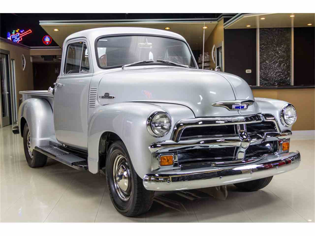Large Picture of 1955 Chevrolet 3100 5 Window Deluxe Pickup located in Plymouth Michigan - $43,900.00 Offered by Vanguard Motor Sales - JUIZ