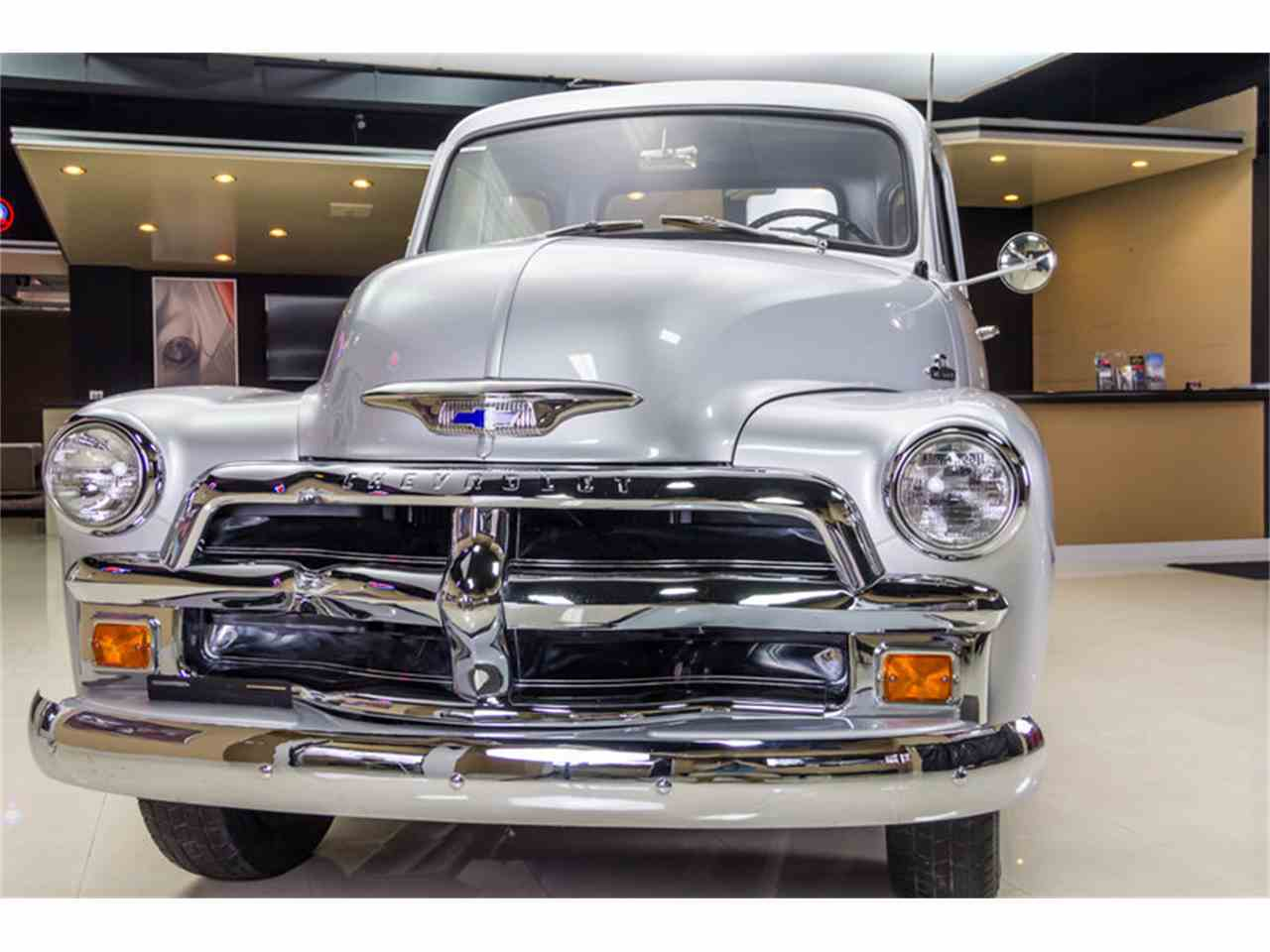 Large Picture of Classic '55 Chevrolet 3100 5 Window Deluxe Pickup located in Michigan Offered by Vanguard Motor Sales - JUIZ