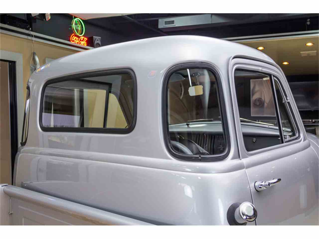 Large Picture of Classic 1955 3100 5 Window Deluxe Pickup located in Plymouth Michigan - $43,900.00 Offered by Vanguard Motor Sales - JUIZ