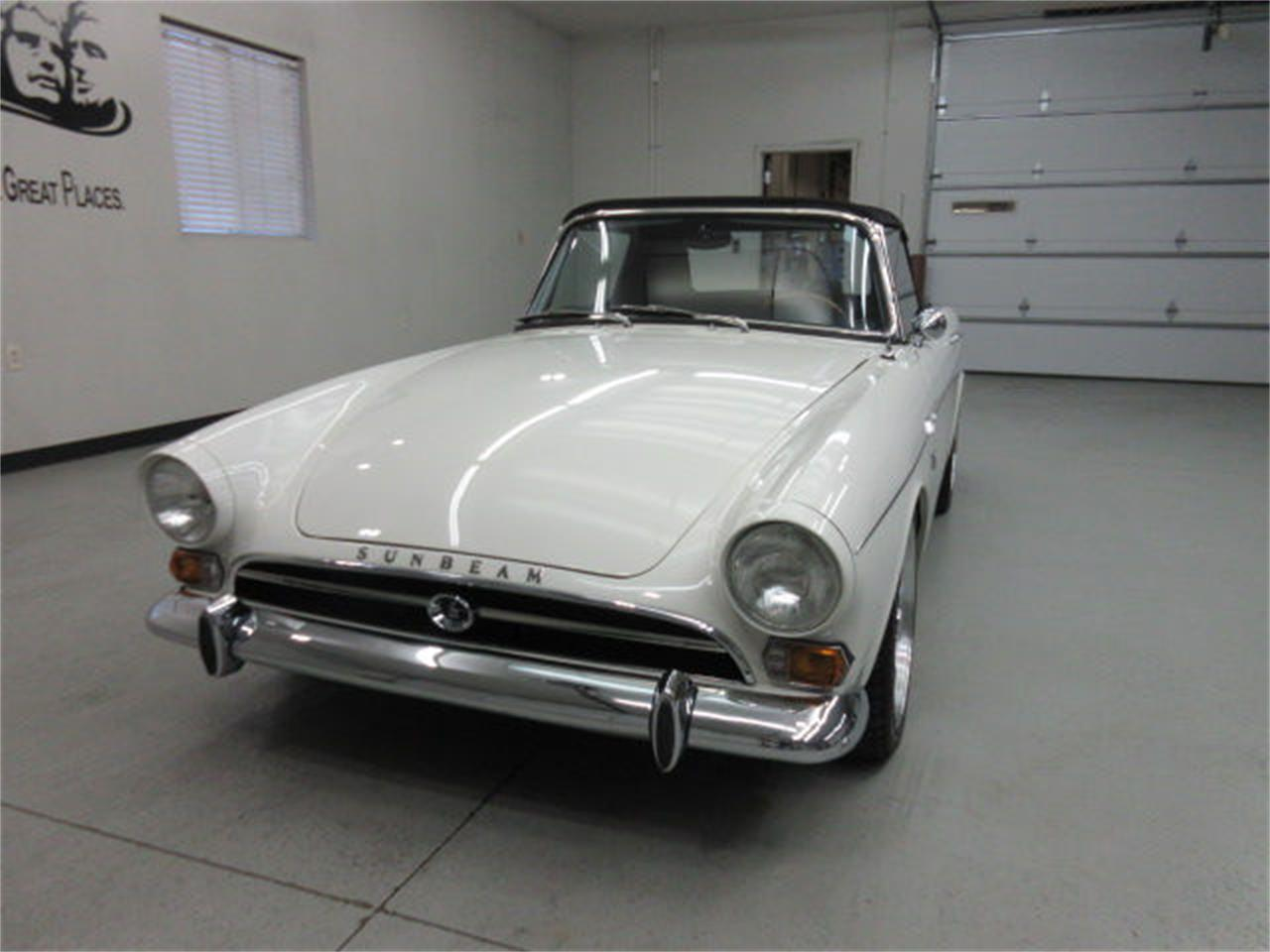 Large Picture of 1967 Sunbeam Alpine located in South Dakota - $40,975.00 Offered by Frankman Motor Company - JUJS