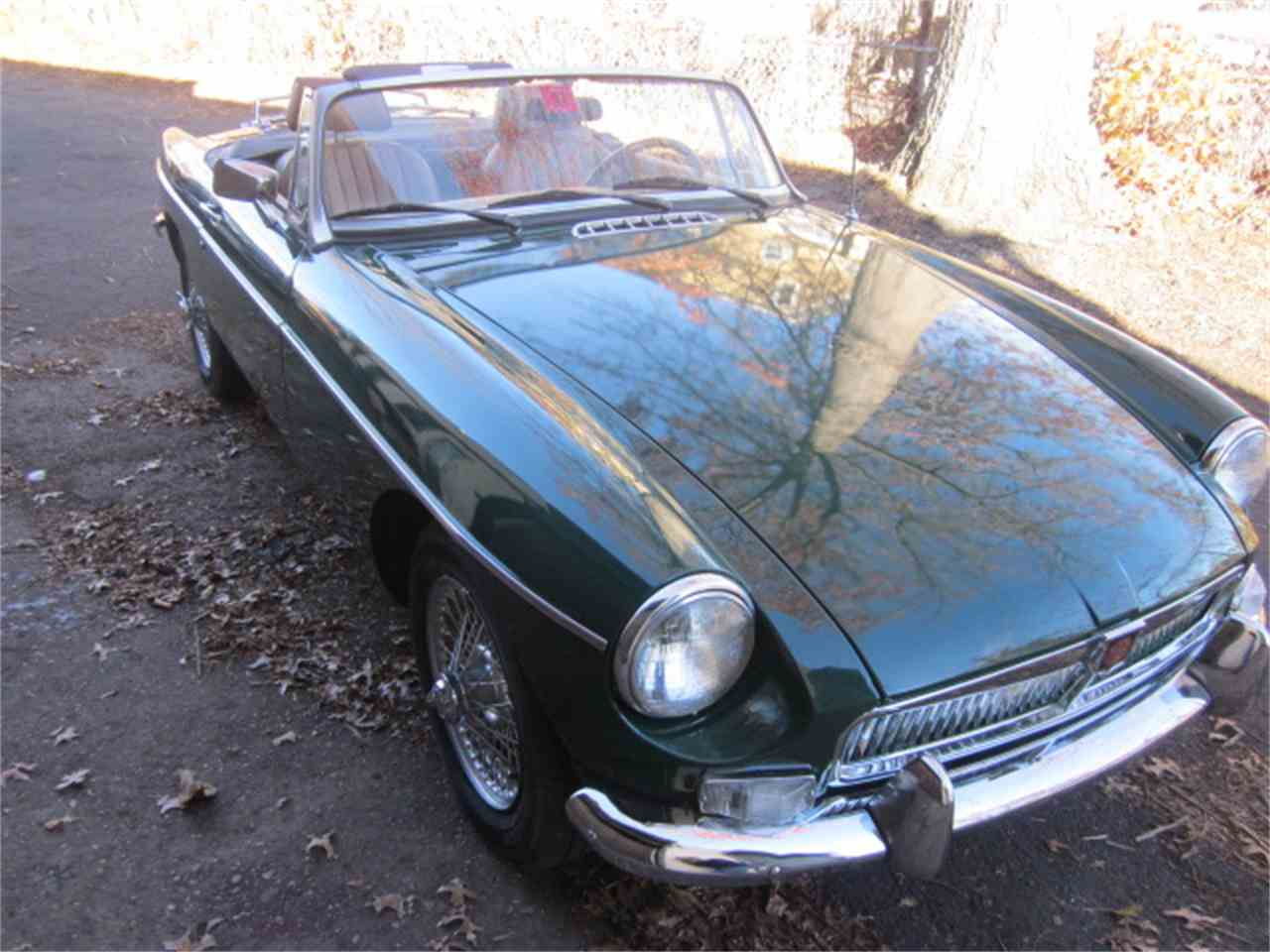 Large Picture of '78 MG MGB located in Stratford Connecticut Offered by The New England Classic Car Co. - JULX