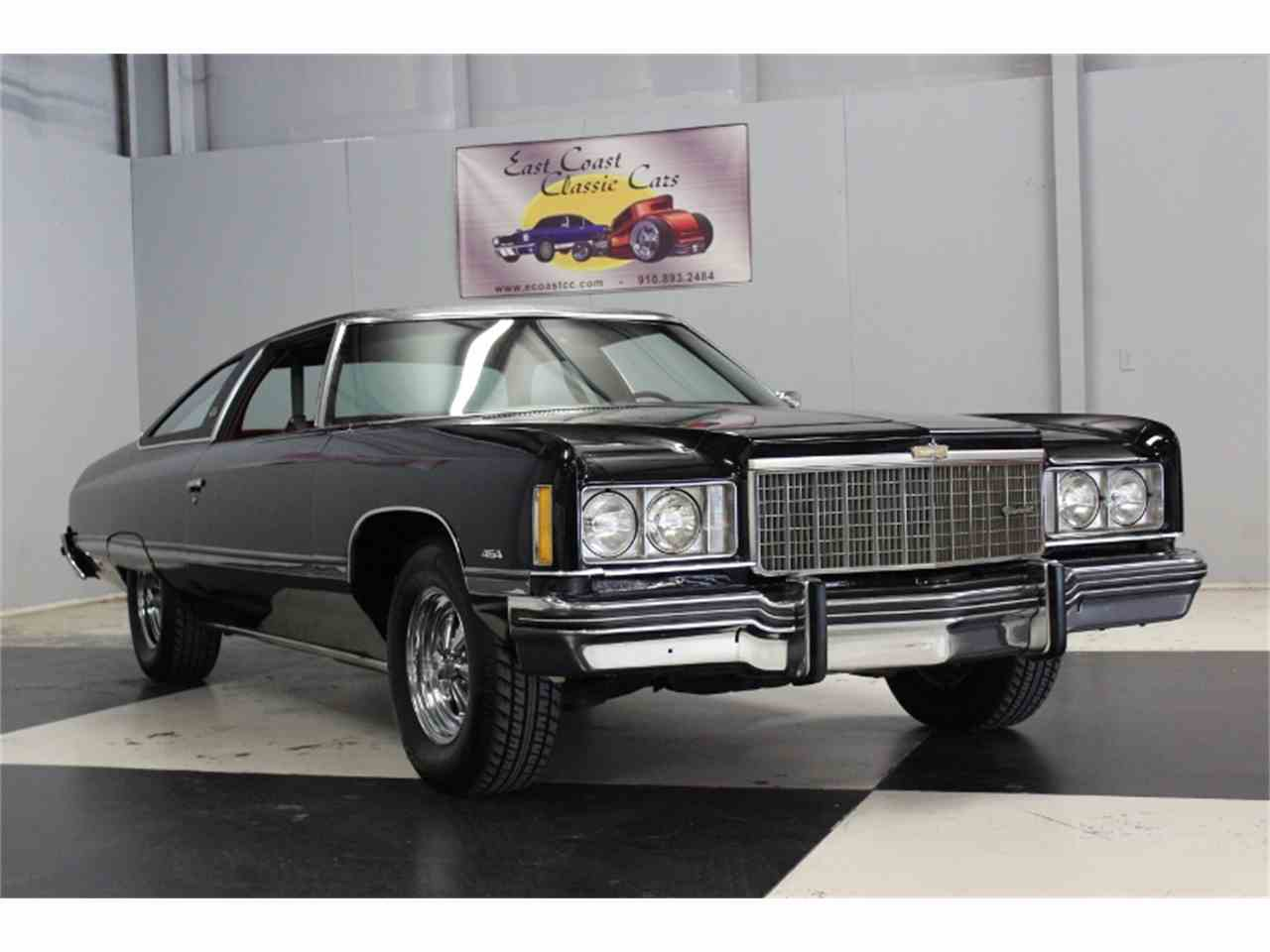 Large Picture of '74 Caprice located in Lillington North Carolina Offered by East Coast Classic Cars - JUO8