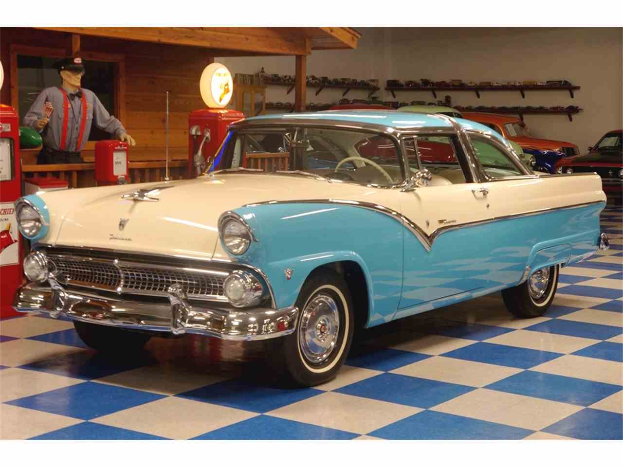 1955 ford crown victoria for sale cc 920626. Black Bedroom Furniture Sets. Home Design Ideas