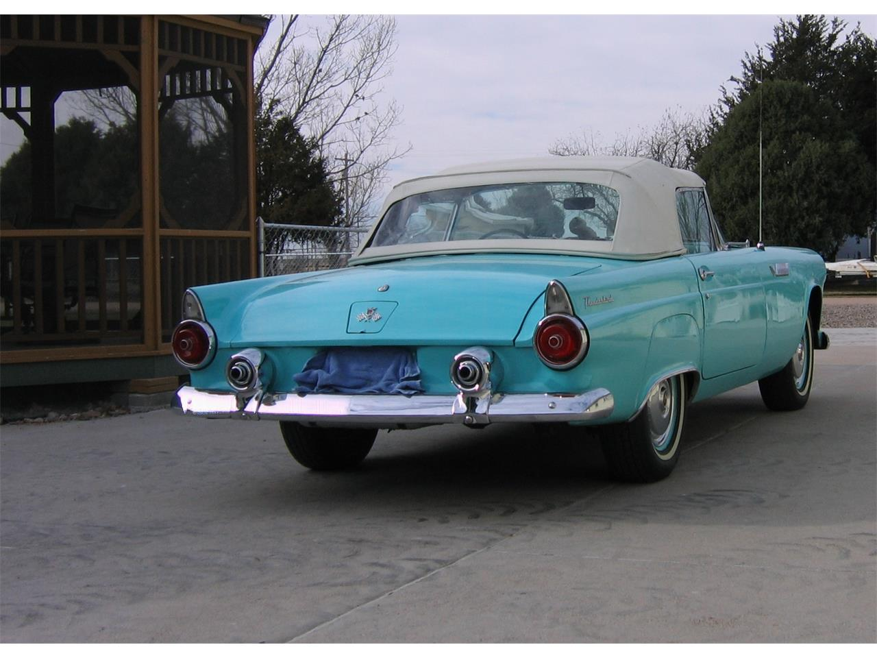 Large Picture of '55 Thunderbird located in Paoli Colorado - $26,400.00 Offered by a Private Seller - JUSS