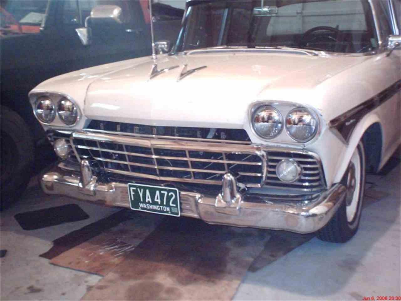 1958 Rambler Custom Sedan for Sale   ClassicCars.com   CC-926386