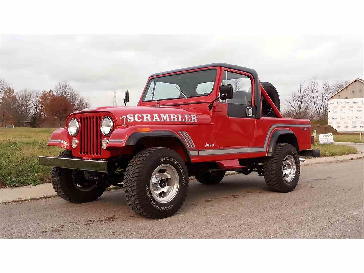 1985 jeep cj8 scrambler for sale cc 926395. Black Bedroom Furniture Sets. Home Design Ideas