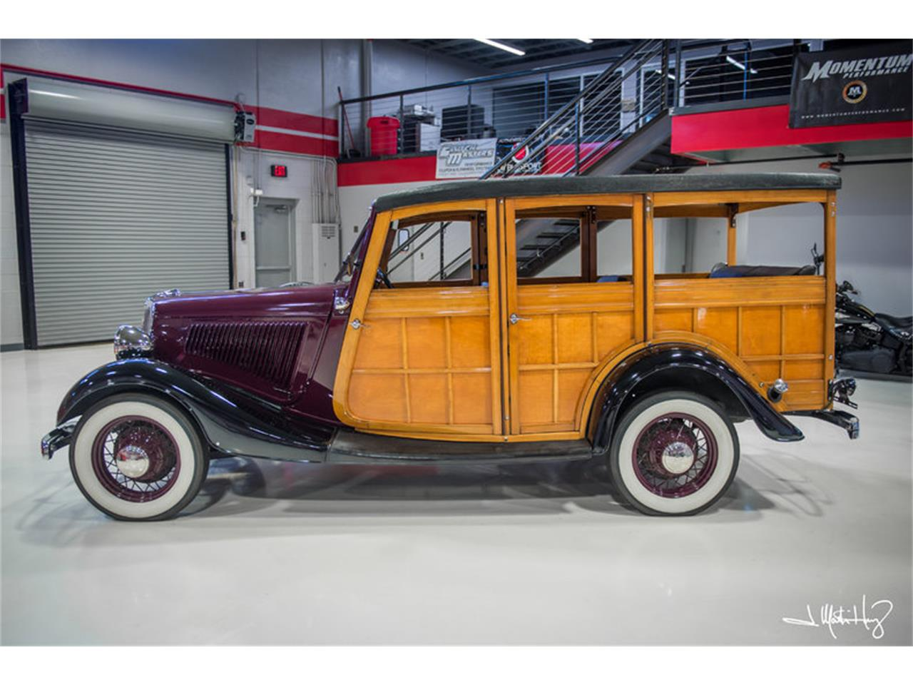 Large Picture of Classic 1934 Woody Wagon located in Arizona - $47,500.00 Offered by Crown Concepts LLC - JUZV