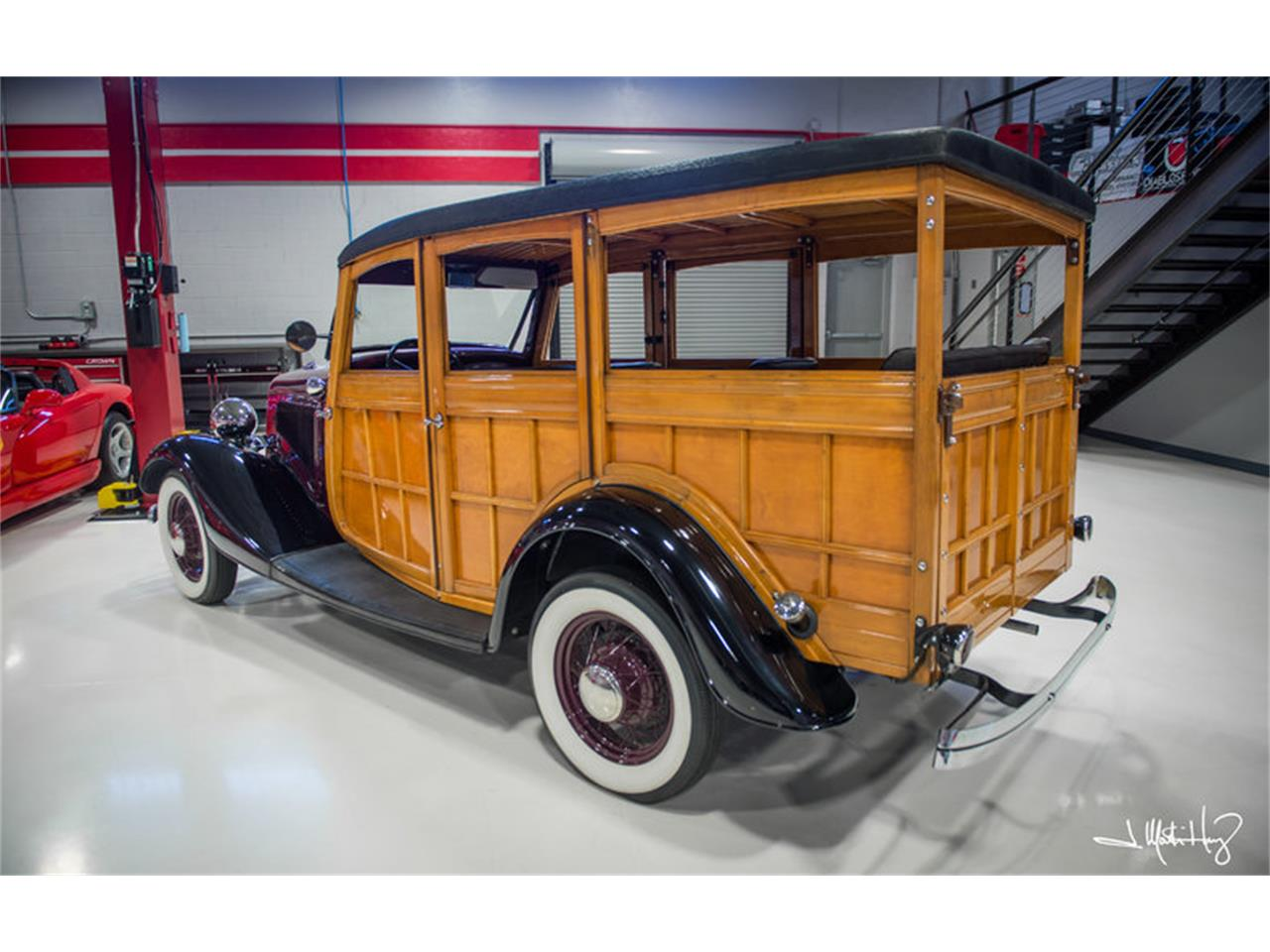 Large Picture of 1934 Ford Woody Wagon located in Tucson Arizona - $47,500.00 Offered by Crown Concepts LLC - JUZV